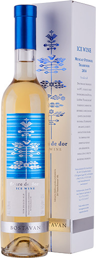 Vin  alb dulce - Ice Wine Floare de Dor 2017, 0.5L, Bostavan